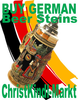German Beer Steins - ChristKindl-Markt.com